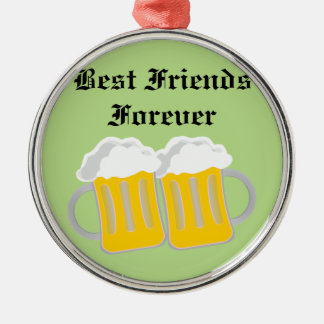 Best Friends Forever Metal Ornament