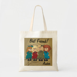 Best Friends Forever  - Personalize Tote Bag