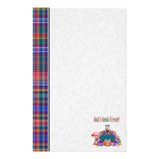Best Friends Forever Pixel Art Personalized Stationery