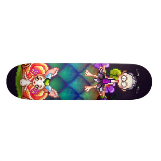Best Friends Forever Pixel Art Skate Board Decks