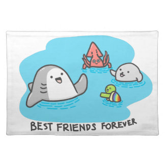 Best friends forever! placemat