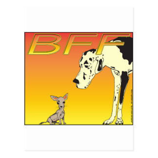 Best Friends Forever RED 01 Postcard