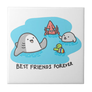 Best friends forever! tile