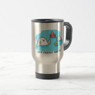 Best friends forever! travel mug