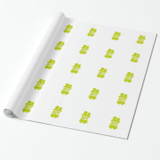 Best friends forever wrapping paper