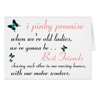 Best Friends Greetings Card