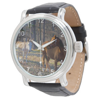 Best Friends Horse and Donkey Watches