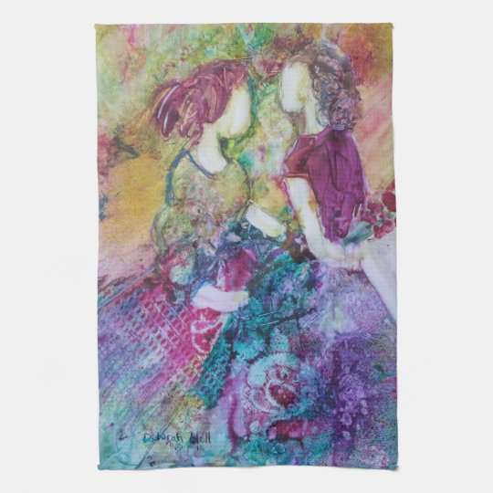 """Best Friends"" Kitchen Towel"