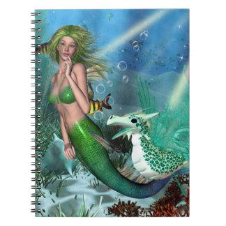 Best Friends Mermaid Fantasy Notebook