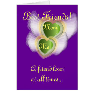 Best Friends!, Mom Me-Customize Card