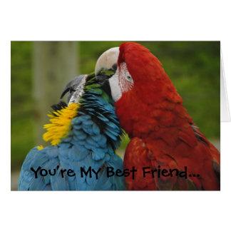 Best Friends-Note Card