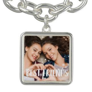 Best Friends Photo Charm Bracelets