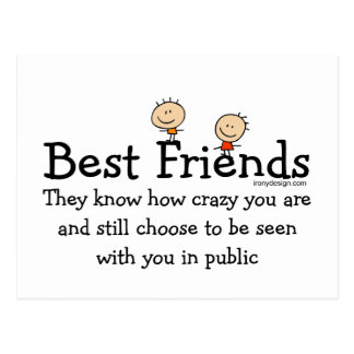 Best Friends Post Cards