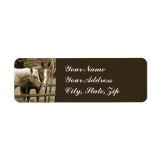 Best Friends Return Address Label