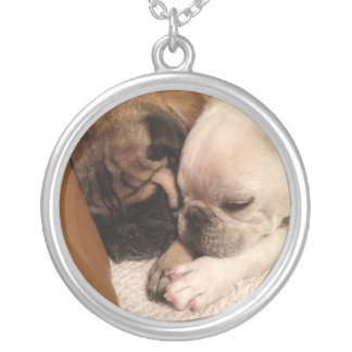 Best Friends Silver Plated Necklace