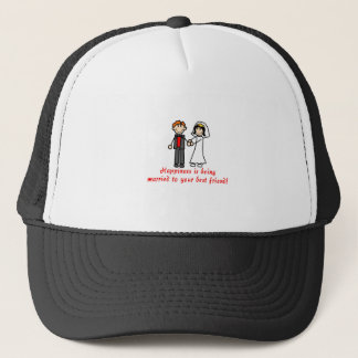 Best Friends Trucker Hat