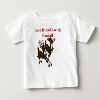Best friends with Rudolf Baby T-Shirt