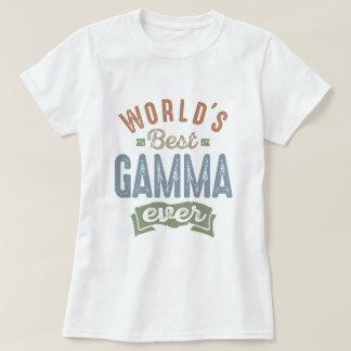Best Gamma T-Shirt