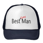 Best Gay Man Wedding Trucker Hat