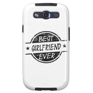 Best Girlfriend Ever Black Samsung Galaxy S3 Covers