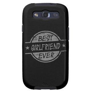 Best Girlfriend Ever Gray Samsung Galaxy SIII Cases