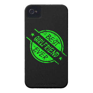 Best Girlfriend Ever Green iPhone 4 Case-Mate Cases