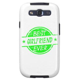 Best Girlfriend Ever Green Galaxy S3 Cover