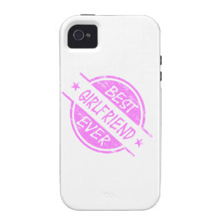 Best Girlfriend Ever Pink Vibe iPhone 4 Cover