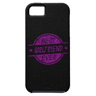 Best Girlfriend Ever Purple iPhone 5 Case