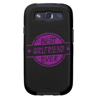 Best Girlfriend Ever Purple Samsung Galaxy S3 Covers