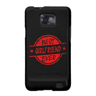 Best Girlfriend Ever Red Samsung Galaxy SII Covers
