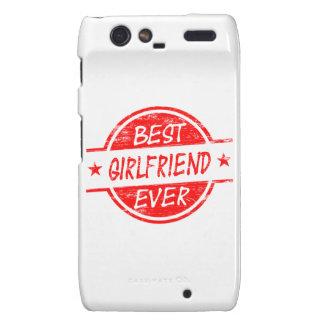 Best Girlfriend Ever Red Droid RAZR Cases