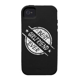 Best Girlfriend Ever White Case-Mate iPhone 4 Case