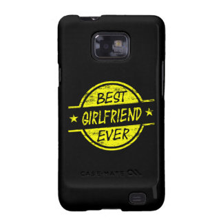 Best Girlfriend Ever Yellow Galaxy S2 Covers