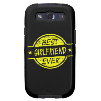 Best Girlfriend Ever Yellow Samsung Galaxy SIII Cover