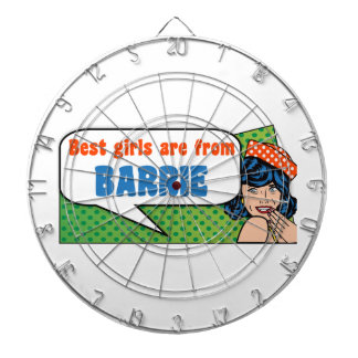 Best girls are from Barrie Dartboard