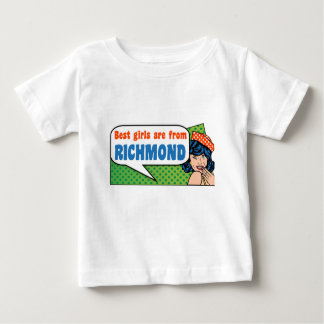 Best girls are from Richmond Baby T-Shirt