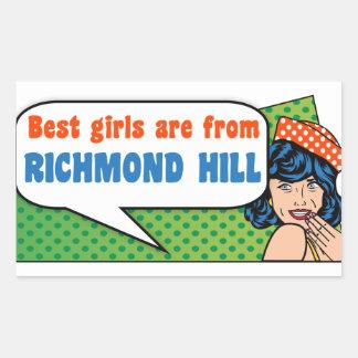 Best girls are from Richmond Hill Sticker