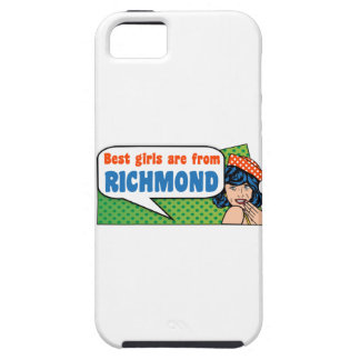 Best girls are from Richmond iPhone 5 Case