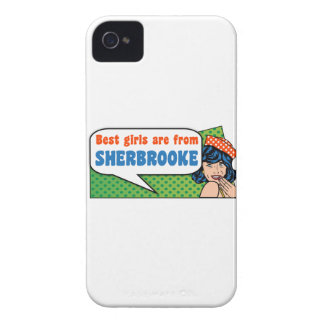 Best girls are from Sherbrooke iPhone 4 Case-Mate Case
