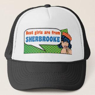 Best girls are from Sherbrooke Trucker Hat