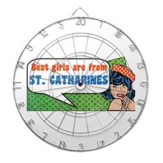 Best girls are from St. Catharines Dartboard