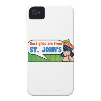 Best girls are from St. John's Case-Mate iPhone 4 Case
