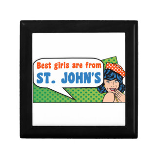 Best girls are from St. John's Gift Box