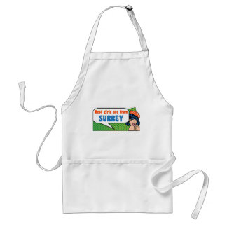Best girls are from Surrey Standard Apron