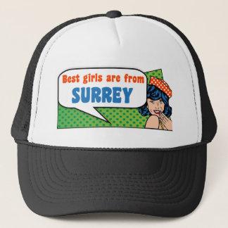 Best girls are from Surrey Trucker Hat
