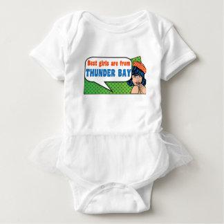 Best girls are from Thunder Bay Baby Bodysuit