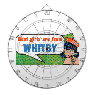 Best girls are from Whitby Dartboard
