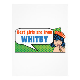 Best girls are from Whitby Letterhead