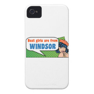 Best girls are from Windsor iPhone 4 Cases